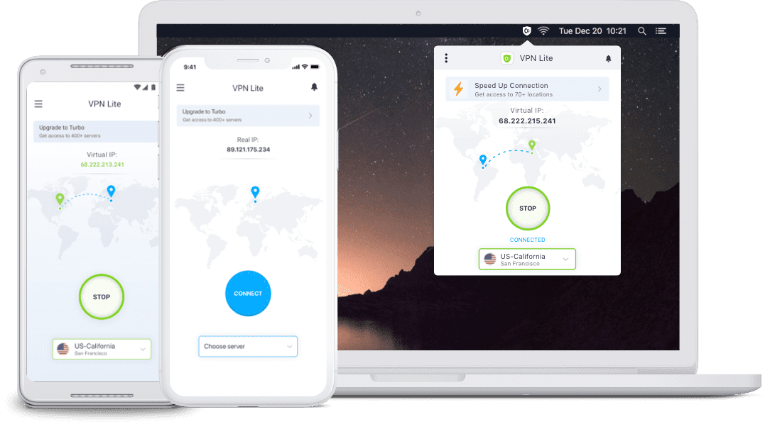 VPN Lite by KeepSolid - VPN protection for your device
